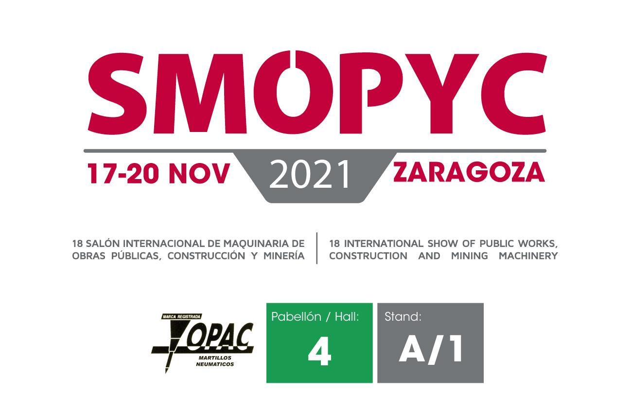 Topac estará en SMOPYC 2021